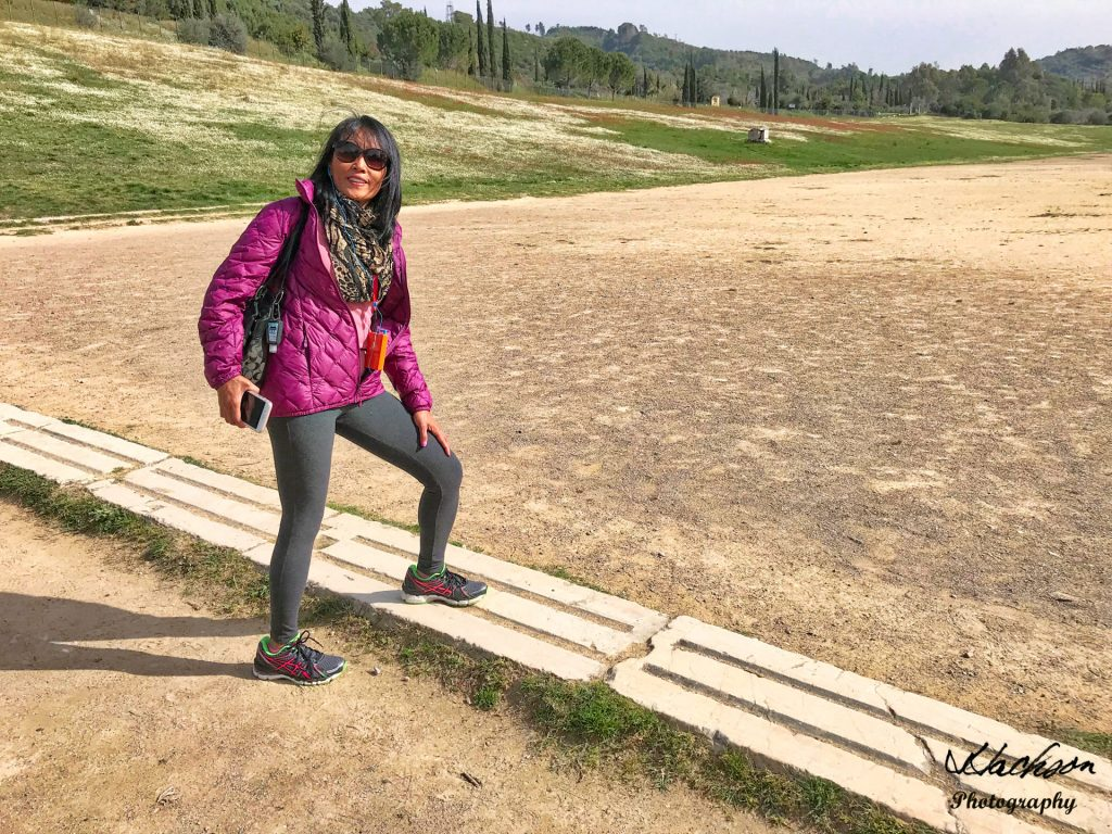 Photo of Track at Olympia, Greece