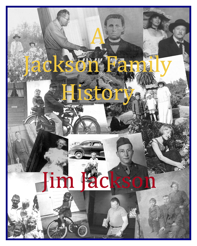 Photo of cover of Jackson history book
