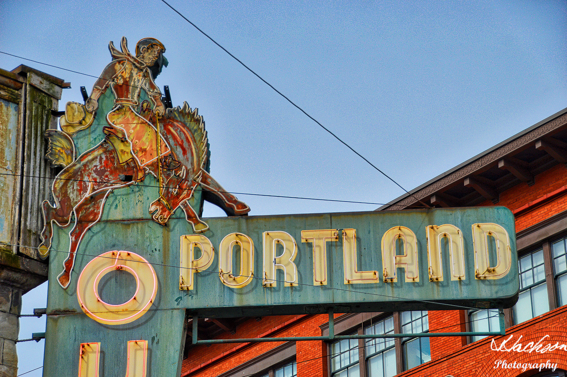 Photo of Portland Outdoor neon