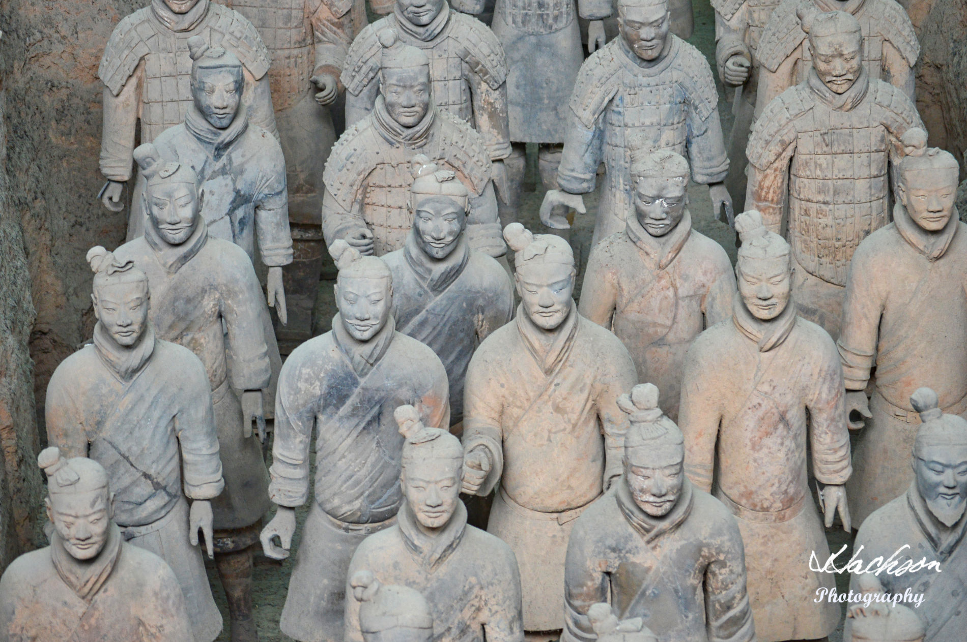 Photo of the Terracotta Warriors