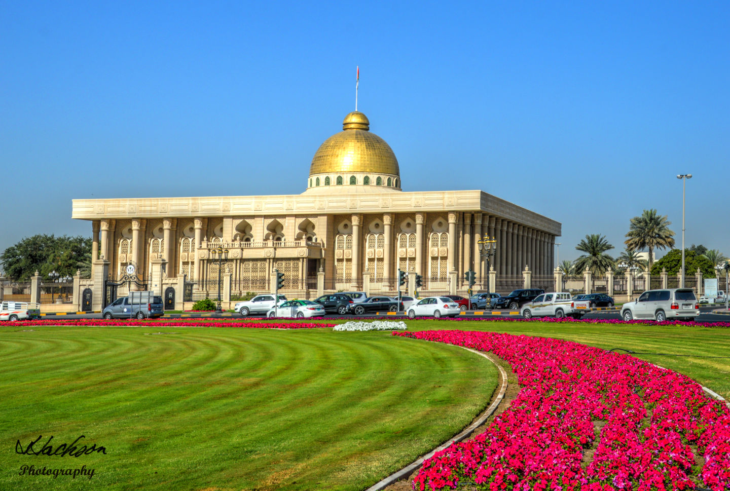 Photo of Sharjah government building