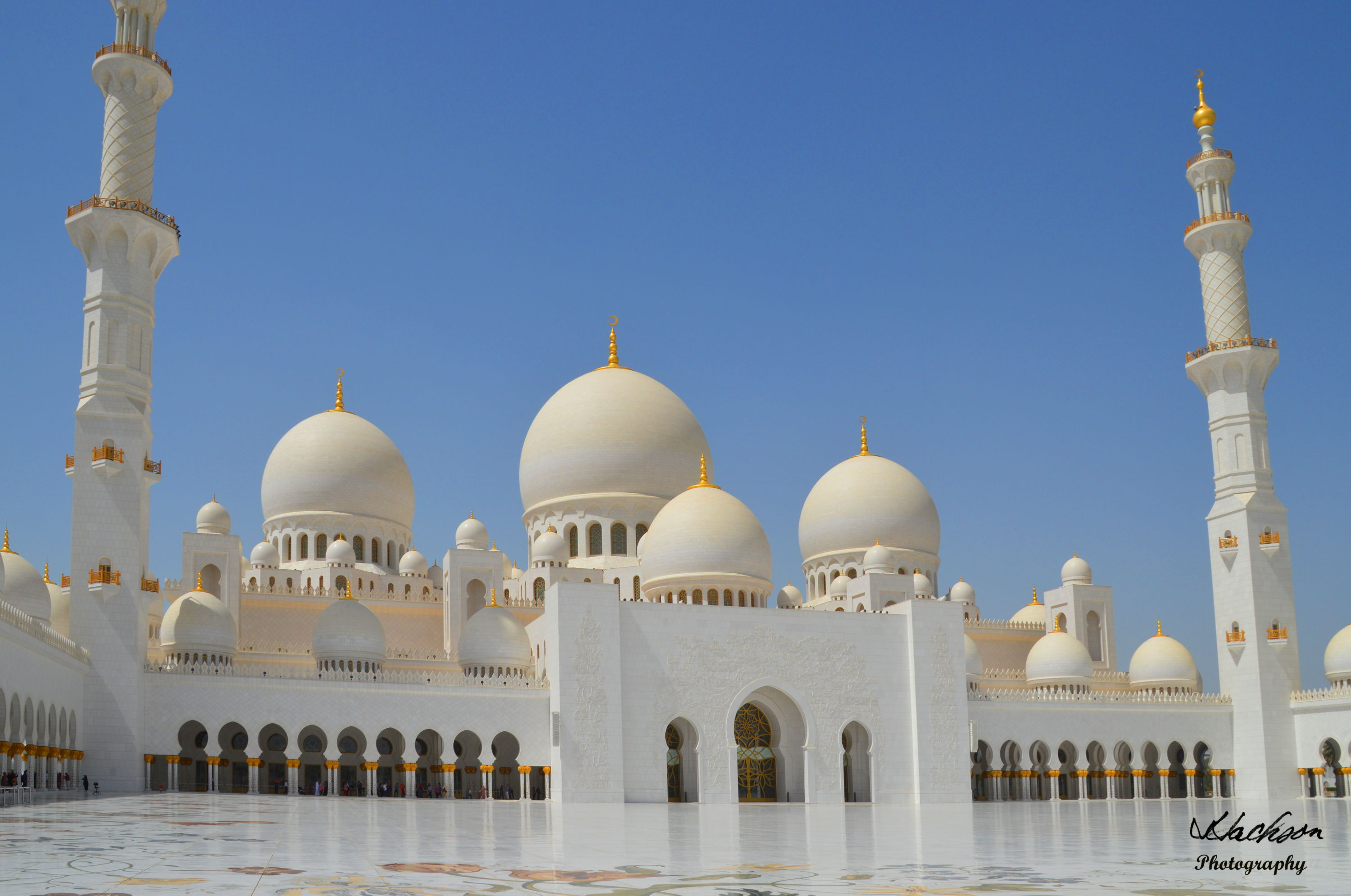 Photo of the The Grand Mosque in Abu Dhabi