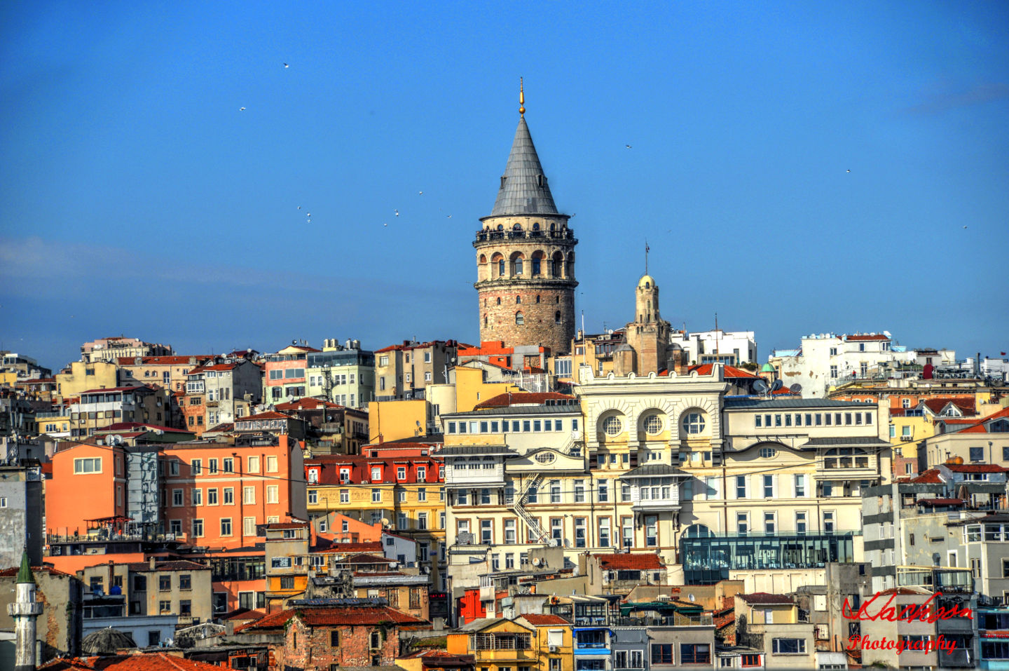 Photo of the Top of the hill in Istanbul