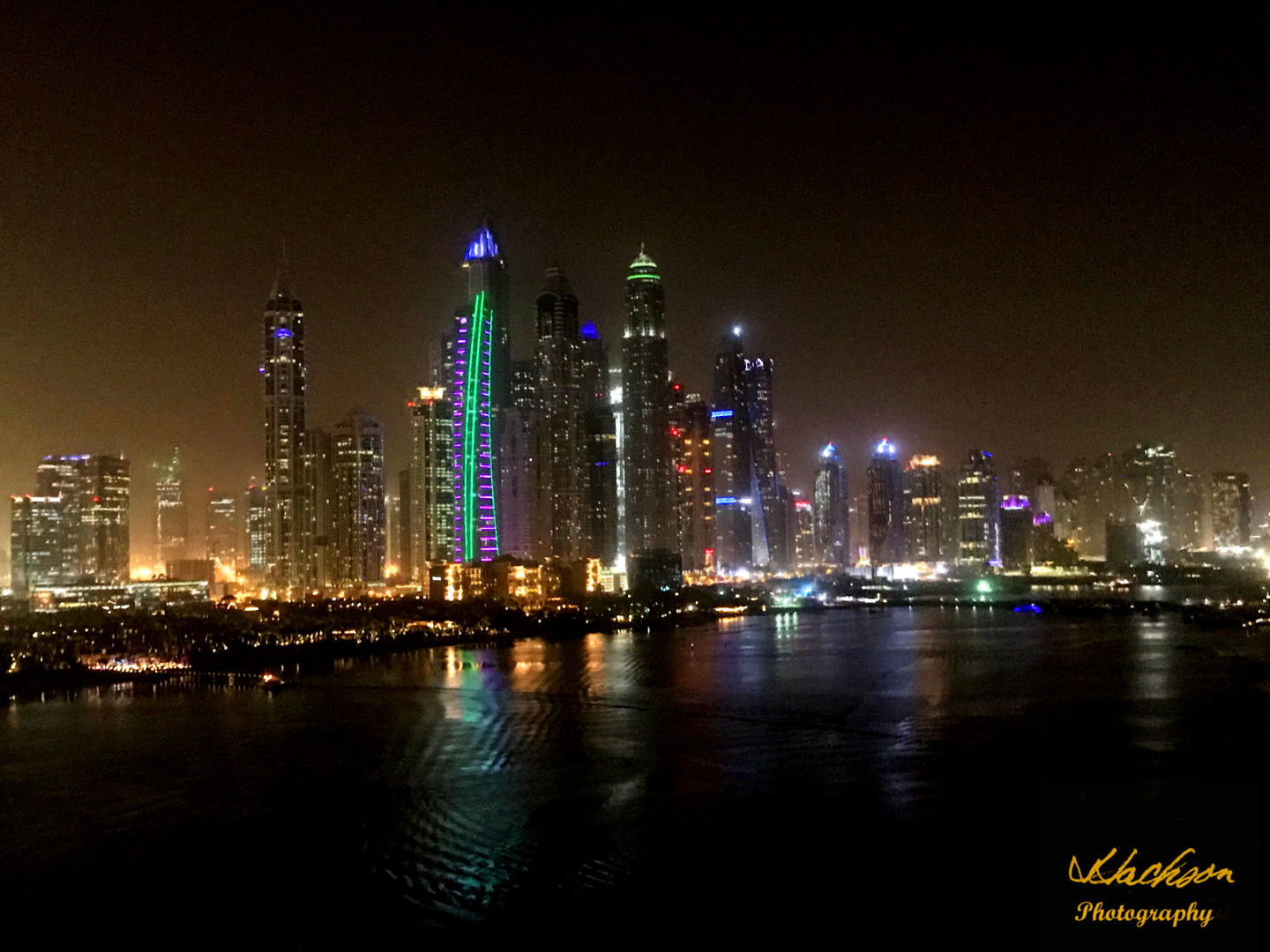 Photo of the view from the Penthouse Restaurant at Five Palm Jumeirah