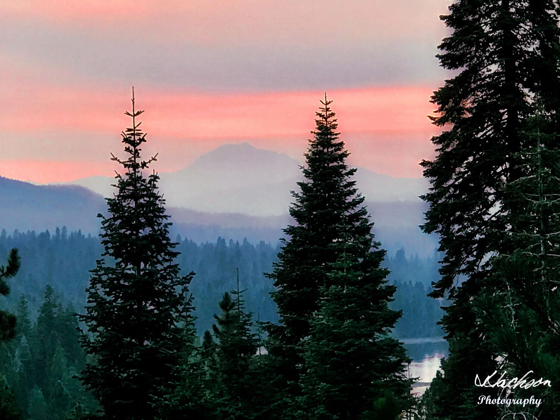 Photo of Mount Lassen sunset