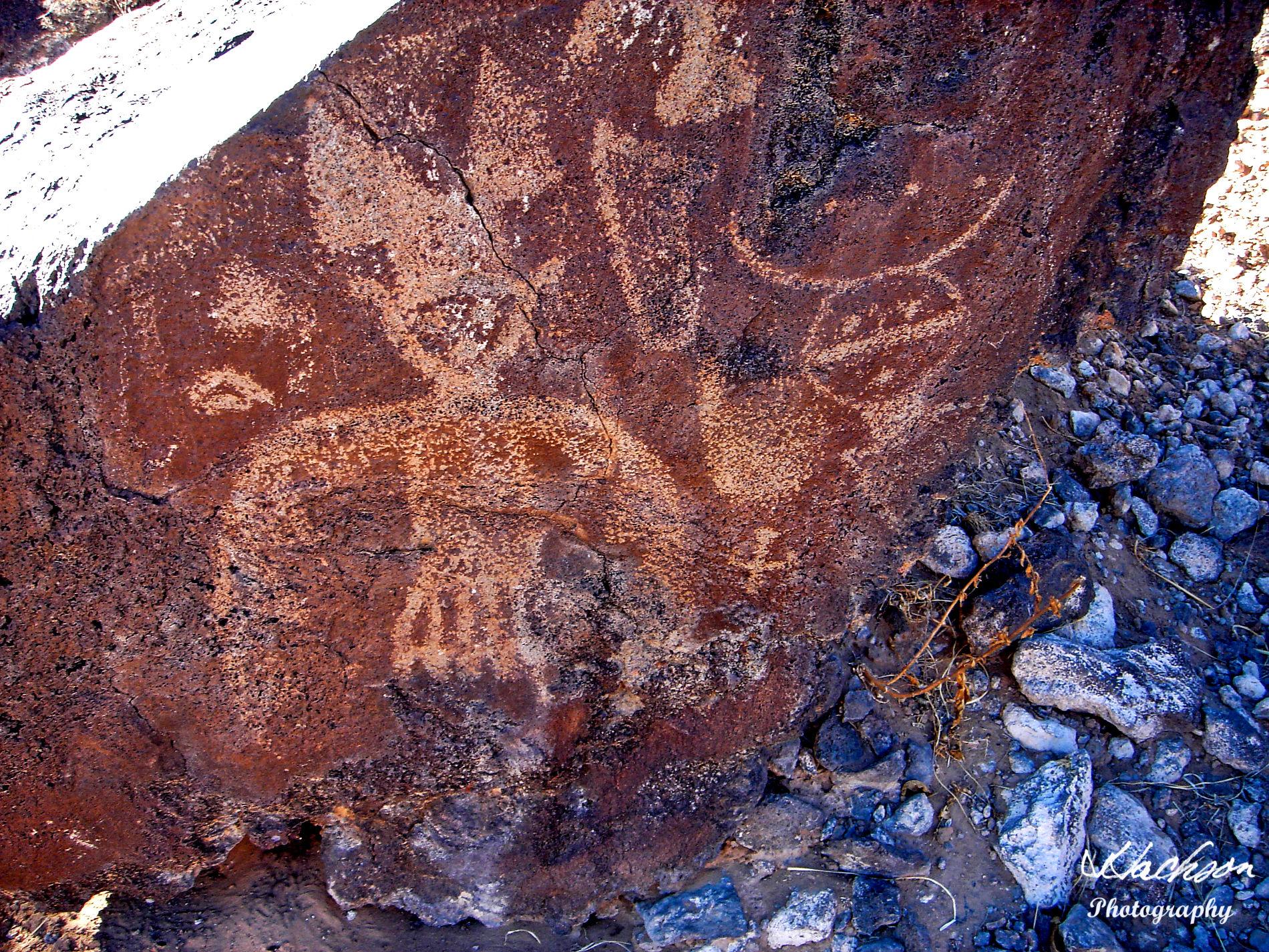Photo of Albuquerque New Mexico petroglyph