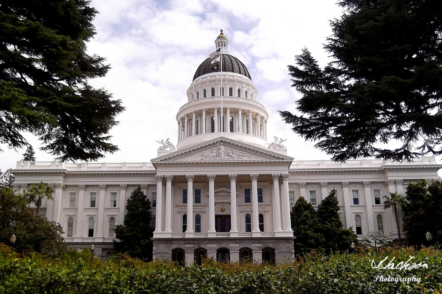 Photo of the California State Capitol at Sacramento