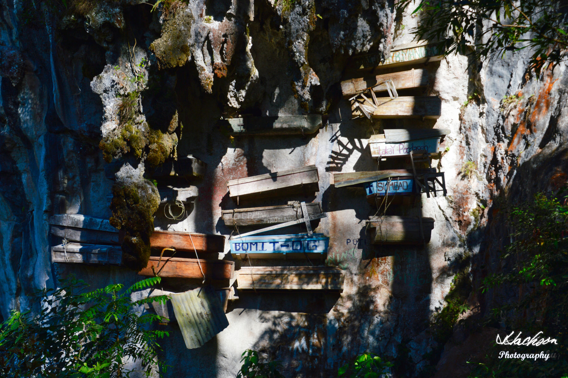 Photo of Hanging Coffins of Sagada