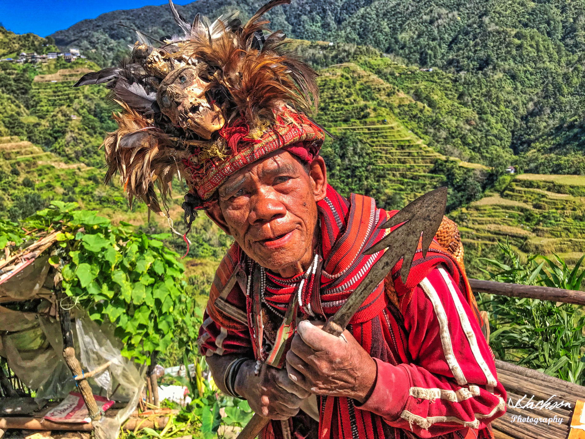 Photo of Ifugao warrior